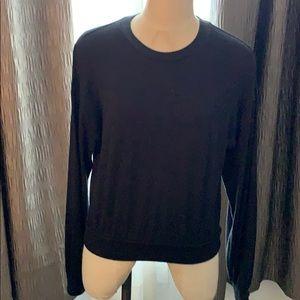 Wilfred Free Black Long Sleeve Top Size Medium